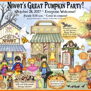 Niwot's Great Pumpkin Party!