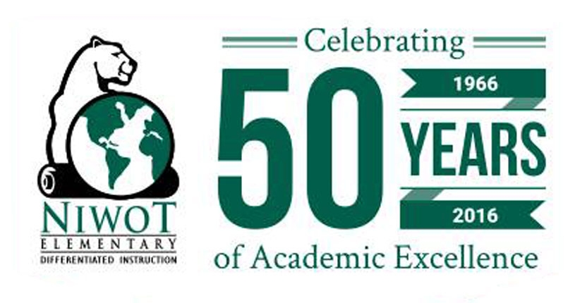 50th Anniversary of Niwot Elementary School