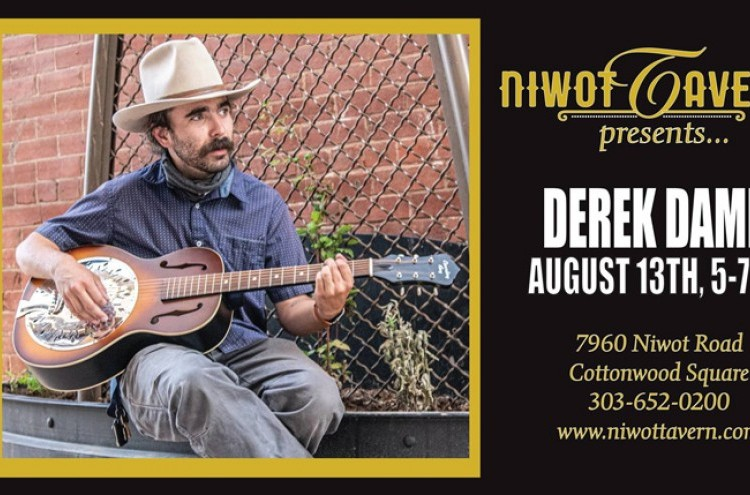 Save the music with Derek Dames! at Niwot Tavern