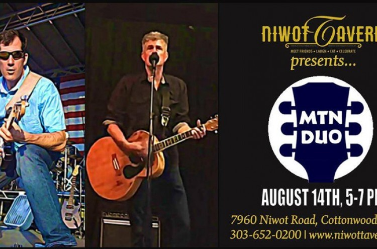 Save the music with Mountain Duo! at Niwot Tavern
