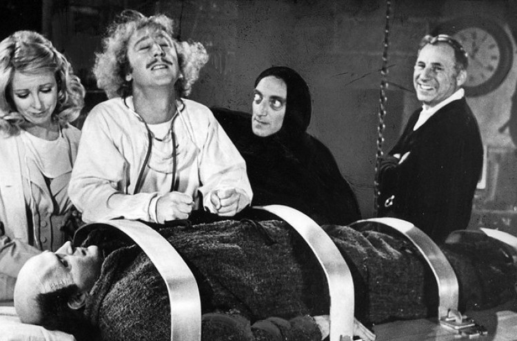 Movie Night at Lefty's Pizza feat. Young Frankenstein