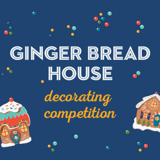 Gingerbread House Decorating Competition