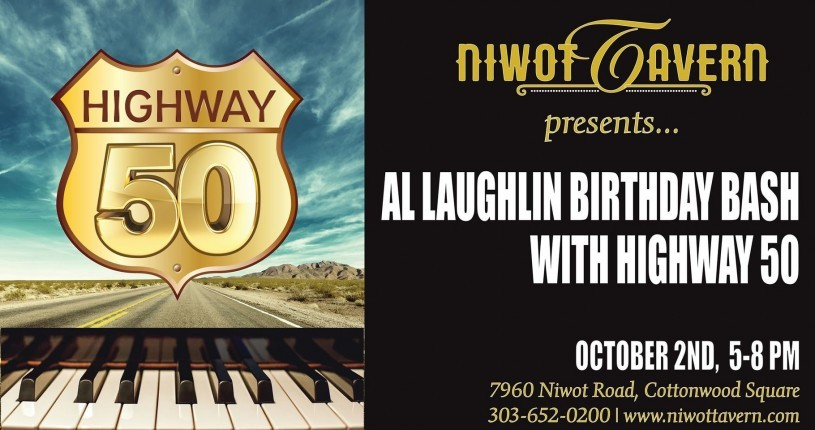 Save the music with Al Laughlin and Highway 50